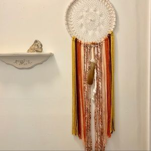 Large handmade dreamcatcher/wall hanging